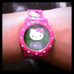 Hello Kitty Digital Adjustable Mood Watch